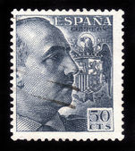 General Francisco Franco — Stok fotoğraf