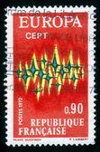 Frankreich - europa-cept — Stockfoto
