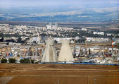 Israeli oil Refinery in Haifa — Stock Photo