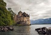 Chateau de Chillon , lake Geneva , Montreux — Stock Photo