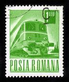 Locomotiva diesel — Foto Stock