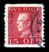 King Gustav V — Stock Photo