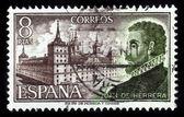 Portrait of Spanish architect and scholar Juan de Herrera — Stock Photo