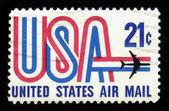 Symboles du service postal aérien américain — Photo