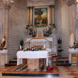 Stock Photo: Altar in church of first miracle