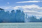 Perito moreno glacier, patagonie, argentina. — Stock fotografie
