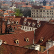 Royalty-Free Stock Photo: Red roofs of old Prague