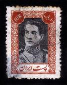Portrait of Mohammad Reza Shah Pahlavi — Stock Photo