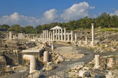 Ancient Roman excavations in Israel — Stock Photo