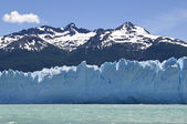 Water, ijs en sneeuw van argentinië — Stockfoto