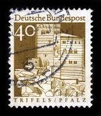 Trifels Fortress, Palatinate, Pfalz — Stock Photo