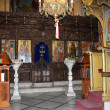 Iconostasis of the Greek Orthodox Church — Stock Photo