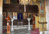 Iconostasis of the Greek Orthodox Church — Stock Photo