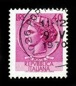 Moneda de sello syracusean — Foto de Stock