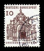 Pavilion, Zwinger, Dresden — Foto Stock