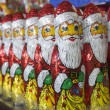 Royalty-Free Stock Photo: Army of chocolate Santa Clauses