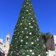 Christmas tree in Nazareth, Israel — Stock Photo #17627765