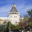 Basilica of the Annunciation in Nazareth, Israel — Stock Photo