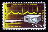 Israel products exported by air - electronics — Stock Photo