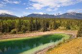 Landscape in Banff Alberta,Canada — Stock Photo