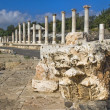 Archaeological site , Beit Shean , Israel — Stock Photo