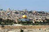 Jerusalem - the holy city for Muslims, for Christians, for Jews — Stock Photo