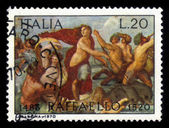 Overwinning van galatea door raphael santi van urbino — Stockfoto