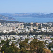 Stock Photo: View of city Sausalito and Bay of SFrancisco