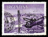 Stad mar del plata in argentinië — Stockfoto