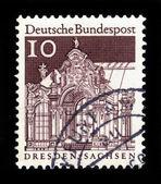 Paviljoen zwinger, dresden in duitsland — Stockfoto