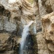Stock Photo: Source of mineral water spring in national park Ein Gedi