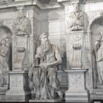 Постер, плакат: Moses by Michelangelo in San Pietro in Vincoli Rome Italy