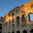 Foto Stock: Magnificent Colosseum in first rays of sun