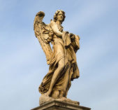 Angels - the symbol of Rome — Stock Photo