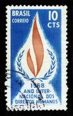 Ano internacional dos direitos humanos, 1968 — Foto Stock