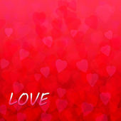 Abstract background with hearts for valentine's day — Foto de Stock