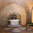 The synagogue church in Nazareth old city, Israel — Stock Photo