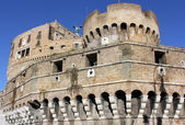 Corner tower of Castel Sant'Angelo, Rome, Italy — Stock Photo