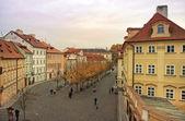 Tiché ulici ve staré praze — Stock fotografie