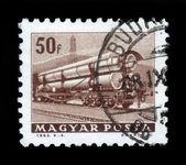 Tank railway wagons — Stock Photo