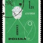 Soviet spacecraft luna 3 — Stock Photo #21258493