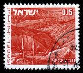 Landscapes of Israel - desert Negev — Stock Photo