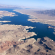 View of the Colorado River and Lake Mead — Stock Photo