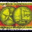 Medal dedicated to sub-industrialized countries conference in Havana - Stock Photo
