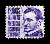 Francis Parkman, american historian, author of the Oregon Trail — Stock Photo