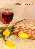 Jewish holiday of Passover — Stock Photo