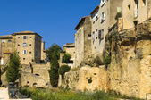 Small town, region of Luberon, France — Stock Photo