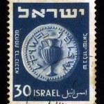 Постер, плакат: Ancient coins of Israel period of the war of Bar Kokhba