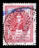 General Jose de San Martin — Stock Photo
