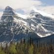 Stock Photo: Beautiful scenery in magnificent CanadiRockies